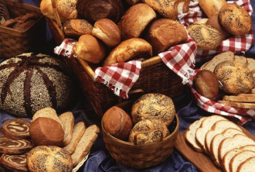 4. Baskets of Bread. Photo Credit: Scott Bauer (http://www.ars.usda.gov/is/graphics/photos, K7251-27), Agricultural Research Service (ARS, http://www.ars.usda.gov), United States Department of Agriculture (USDA, http://www.usda.gov), Government of the United States of America (USA).