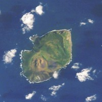 "3. Guguan, Commonwealth of the Northern Mariana Islands (USA). Earth Sciences and Image Analysis, NASA-Johnson Space Center. 8 December 2003. ""Astronaut Photography of Earth - Quick View."" <http://eol.jsc.nasa.gov/scripts/sseop/QuickView.pl?directory=ESC&ID=STS107-E-5467>; National Aeronautics and Space Administration (NASA, http://www.nasa.gov), Government of the United States of America (USA)."