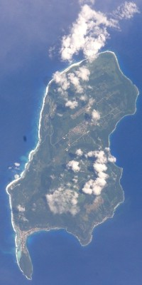 "7. Luta (Rota), Commonwealth of the Northern Mariana Islands (USA). Earth Sciences and Image Analysis, NASA-Johnson Space Center. 8 December 2003. ""Astronaut Photography of Earth - Quick View."" <http://eol.jsc.nasa.gov/scripts/sseop/QuickView.pl?directory=ESC&ID=STS112-E-5360>; National Aeronautics and Space Administration (NASA, http://www.nasa.gov), Government of the United States of America (USA)."