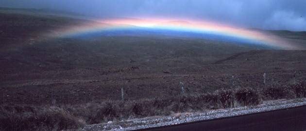 1. A Brilliant Hawaiian Rainbow in Hawaii, State of Hawaii, USA. Photo Credit: Commander John Bortniak, NOAA Corps (retired), National Oceanic and Atmospheric Administration Photo Library (http://www.photolib.noaa.gov), America's Coastlines Collection, National Oceanic and Atmospheric Administration (NOAA, http://www.noaa.gov), United States Department of Commerce (http://www.commerce.gov), Government of the United States of America (USA).
