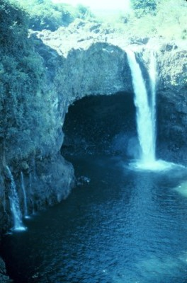 2. Rainbow Falls, Hilo, Hawaii, State of Hawaii, USA. Photo Credit: Commander John Bortniak, NOAA Corps (retired), National Oceanic and Atmospheric Administration Photo Library (http://www.photolib.noaa.gov), America's Coastlines Collection, National Oceanic and Atmospheric Administration (NOAA, http://www.noaa.gov), United States Department of Commerce (http://www.commerce.gov), Government of the United States of America (USA).