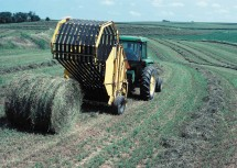 2. Making Large Bales of Hay, State of Iowa, USA. Photo Credit: Keith McCall (1999, http://photogallery.nrcs.usda.gov, NRCSIA99200), USDA Natural Resources Conservation Service (NRCS, http://www.nrcs.usda.gov), United States Department of Agriculture (USDA, http://www.usda.gov), Government of the United States of America (USA).