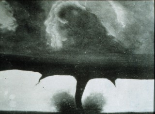 2. An Impressive Tornado, August 28, 1884, 22 miles Southwest of Howard, State of South Dakota, USA. This is the Oldest Known Photograph of a Tornado. Photo Credit: National Oceanic and Atmospheric Administration Photo Library (http://www.photolib.noaa.gov), Historic NWS (National Weather Service) Collection, National Oceanic and Atmospheric Administration (NOAA, http://www.noaa.gov), United States Department of Commerce (http://www.commerce.gov), Government of the United States of America (USA).
