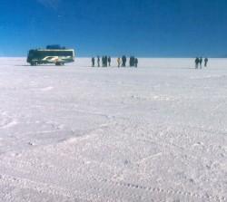 3. Salar de Uyuni (Uyuni Salt Plain), Republica de Bolivia - Republic of Bolivia. Photo Credit: SeaWiFS Science Focus, Volume IV: Ancient Seas, Modern Images - Uyuni Salt Plain (Salar de Uyuni) <http://daac.gsfc.nasa.gov/CAMPAIGN_DOCS/OCDST/science_focus.html>, Goddard Earth Sciences (GES) Data and Information Services Center (DISC) Distributed Active Archive Center (DAAC) <http://daac.gsfc.nasa.gov>, NASA Goddard Space Flight Center (http://www.gsfc.nasa.gov), National Aeronautics and Space Administration (NASA, http://www.nasa.gov), Government of the United States of America (USA).