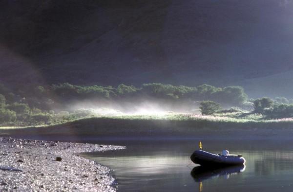 The Morning Mist on Chief Cove, Kodiak Island, Kodiak National Wildlife Refuge, State of Alaska, USA. Photo Credit: AK/RO/02397, Alaska Image Library, United States Fish and Wildlife Service Digital Library System (http://images.fws.gov), United States Fish and Wildlife Service (FWS, http://www.fws.gov), United States Department of the Interior (http://www.doi.gov), Government of the United States of America (USA).