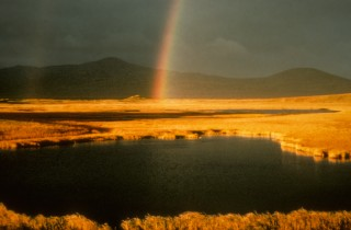 1. Rainbow Sunset at Nanvak Bay (1973), Yukon Delta National Wildlife Refuge, State of Alaska, USA. Photo Credit: M. H. Dick (YUDE-01), Alaska Image Library, United States Fish and Wildlife Service Digital Library System (http://images.fws.gov), United States Fish and Wildlife Service (FWS, http://www.fws.gov), United States Department of the Interior (http://www.doi.gov), Government of the United States of America (USA).