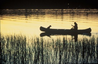 2. Canoeing in a Peaceful Sunset. Photo Credit: Elise Smith (WO-3364-CD42A), Washington DC Library, United States Fish and Wildlife Service Digital Library System (http://images.fws.gov), United States Fish and Wildlife Service (FWS, http://www.fws.gov), United States Department of the Interior (http://www.doi.gov), Government of the United States of America (USA).