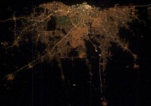 "3. Viewing the Presidential Palace (at top, center, in the brightest area) From the International Space Station. Buenos Aires, Republica Argentina - Argentine Republic (Argentina). Photo Credit: ""Buenos Aires at Night"", Earth Observatory Newsroom <http://eol.jsc.nasa.gov"