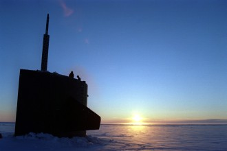 1. Sunrise at the Arctic Ocean. Photo Credit: Photographer's Mate Second Class Steven H. Vanderwerff, Navy NewsStand - Eye on the Fleet Photo Gallery (http://www.news.navy.mil/view_photos.asp, 961105-N-4482V-002), United States Navy (USN, http://www.navy.mil), United States Department of Defense (DoD, http://www.DefenseLink.mil or http://www.dod.gov), Government of the United States of America (USA).