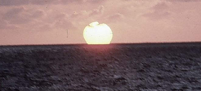 Beautiful Sunset over the Tropical Pacific Ocean, 1985. Photo Credit: Quartermaster Joseph Schebal, NOAA, National Oceanic and Atmospheric Administration Photo Library (http://www.photolib.noaa.gov, theb3102), Historic C&GS Collection, National Oceanic and Atmospheric Administration (NOAA, http://www.noaa.gov), United States Department of Commerce (http://www.commerce.gov), Government of the United States of America (USA).