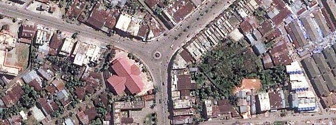 "1. The City of Meulaboh in Sumatra, Republik Indonesia Before ""The Great Earthquake and Catastrophic Tsunami of 2004"" <http://ChamorroBible.org/gpw/gpw-The-Great-Earthquake-and-Catastrophic-Tsunami-of-2004.htm>. DigitalGlobe Satellite Photo, May 18, 2004. Photo Credit: DigitalGlobe (http://DigitalGlobe.com), Tsunami Media Gallery, QuickBird Images of Tsunami Sites (http://DigitalGlobe.com/tsunami_gallery.html), Indonesia, May 18, 2004, ""Meluaboh Overview (Before Tsunami)"" ""Area overview before tsunami"". DigitalGlobe Imagery Analysis: ""Tsunami Aftermath: Calang - Meulaboh, Indonesia; QuickBird Satellite Imagery, January 7, 2005"" <http://www.digitalglobe.com/images/tsunami/Meulaboh_Tsunami_Damage.pdf>."