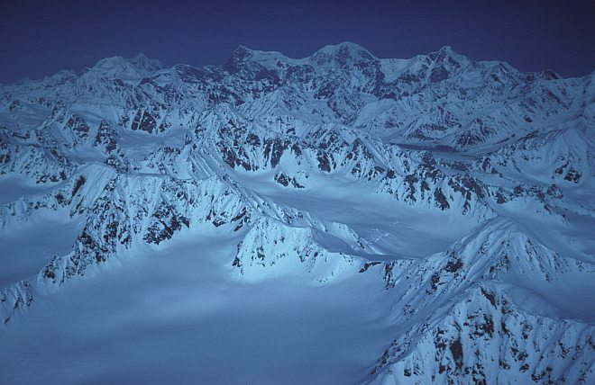 A Magnificent and Impressive View of Snow-Covered Mountain Peaks. Photo Credit: Lana Shea, United States Fish and Wildlife Service Digital Library System (http://images.fws.gov, AK/RO/02553), United States Fish and Wildlife Service (FWS, http://www.fws.gov), United States Department of the Interior (http://www.doi.gov), Government of the United States of America (USA).