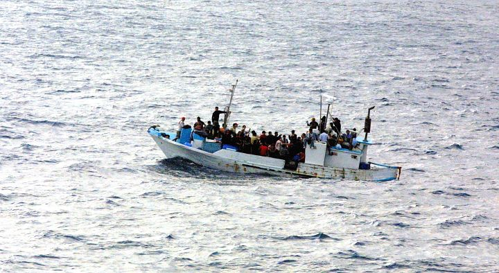 In a Distressed Vessel 300 Miles From Shore, 90 Citizens of Ecuador -- Men, Women, and Children -- Were Discovered, Then Rescued and Saved, June 18, 2005, Pacific Ocean. Photo Credit: U.S Navy Photographer, Navy NewsStand - Eye on the Fleet Photo Gallery (http://www.news.navy.mil/view_photos.asp, 050618-N-0000X-001), United States Navy (USN, http://www.navy.mil); United States Department of Defense (DoD, http://www.DefenseLink.mil or http://www.dod.gov), Government of the United States of America (USA).