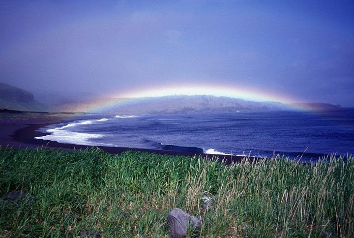 A Beautiful Rainbow Over Lava Point, Alaska Maritime National Wildlife Refuge, Seguam Island, Aleutian Islands, State of Alaska, USA. Photo Credit: Steve Ebbert, Alaska Image Library, United States Fish and Wildlife Service Digital Library System (http://images.fws.gov, AMNWR/0002653/Ebbert S), United States Fish and Wildlife Service (FWS, http://www.fws.gov), United States Department of the Interior (http://www.doi.gov), Government of the United States of America (USA).