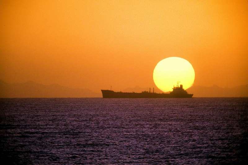 1. Sunset In the Gulf of Oman. Photo Credit: Photographer's Mate 1st Class (PH1) Terry Cosgrove, United States Navy (USN, http://www.navy.mil); Defense Visual Information Center (DVIC, http://www.DoDMedia.osd.mil, DNST9300642) and United States Navy (USN, http://www.navy.mil), United States Department of Defense (DoD, http://www.DefenseLink.mil or http://www.dod.gov), Government of the United States of America (USA).