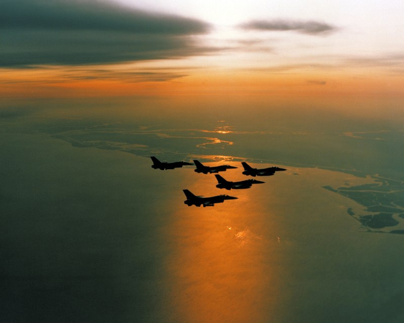 4. Another Beautiful Rising or Setting of the Sun (Sol), January 6, 1983, MacDill Air Force Base, State of Florida, USA. Photo Credit: United States Air Force (USAF, http://www.af.mil); Defense Visual Information Center (DVIC, http://www.DoDMedia.osd.mil, DFSC8400656), United States Department of Defense (DoD, http://www.DefenseLink.mil or http://www.dod.gov), Government of the United States of America (USA).
