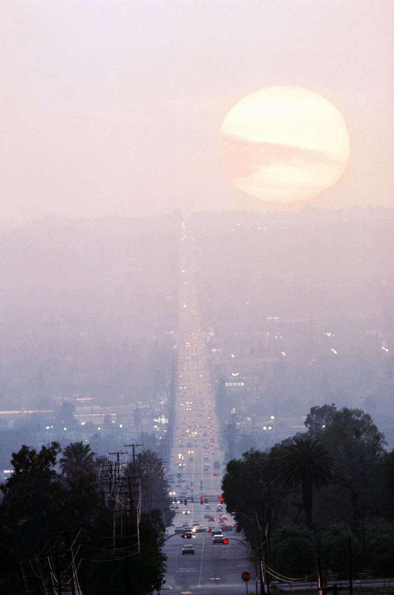 16. Sunset, March 1, 1984, San Bernardino, State of California, USA. Photo Credit: DoD Stock Photos; Defense Visual Information Center (DVIC, http://www.DoDMedia.osd.mil, DFST9905297) and United States Navy (USN, http://www.navy.mil), United States Department of Defense (DoD, http://www.DefenseLink.mil or http://www.dod.gov), Government of the United States of America (USA).