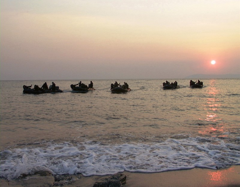 39. Whether a Sunrise or Sunset, It's a Beautiful View of the Sun Over the Black Sea on September 11th, 1999, Cape Ince, Turkiye Cumhuriyeti - Republic of Turkey. Photo Credit: Corporal (CPL) Jimmie Perkins, 26th MEU, United States Marine Corps (USMC, http://www.usmc.mil); Defense Visual Information Center (DVIC, http://www.DoDMedia.osd.mil, DMSD0207810 and 990911M0247P010) and United States Marine Corps (USMC, http://www.usmc.mil), United States Department of Defense (DoD, http://www.DefenseLink.mil or http://www.dod.gov), Government of the United States of America (USA).
