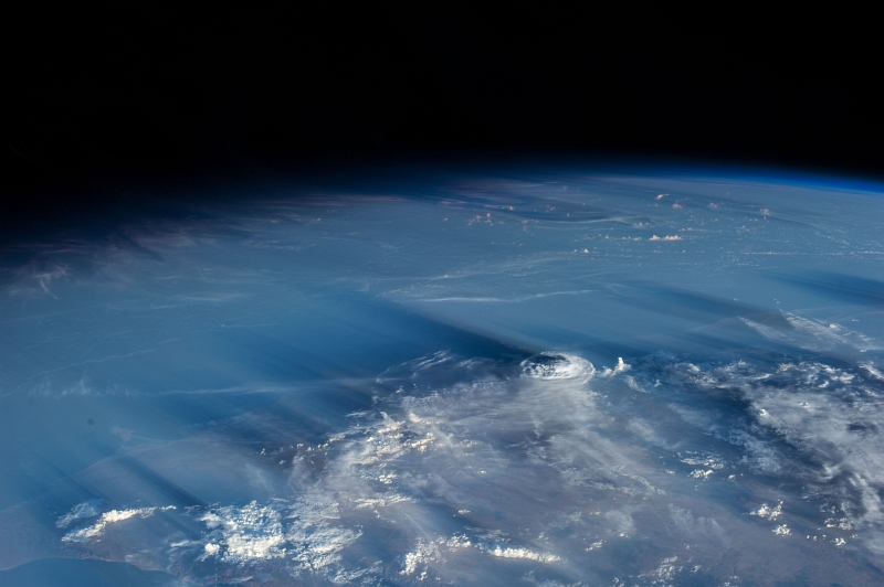 "1. Clouds and Shadows: May 5, 2013 at 14:33:13 GMT, As Seen From the International Space Station (Expedition 35), Orbiting Over Al Jumhuriyah al Yamaniyah -- Republic of Yemen at Latitude (LAT): 15.4, Longitude (LON): 45.1, Altitude (ALT): 221 Nautical Miles, Sun Azimuth (AZI): 285 degrees, Sun Elevation Angle (ELEV):10 degrees. Photo Credit: NASA; ISS035-E-34688, Middle East, Near East, International Space Station (Expedition Thirty-Five); Image Science and Analysis Laboratory, NASA-Johnson Space Center. ""Astronaut Photography of Earth - Display Record."" <http://eol.jsc.nasa.gov/scripts/sseop/photo.pl?mission=ISS035&roll=E&frame=34688>; National Aeronautics and Space Administration (NASA, http://www.nasa.gov), Government of the United States of America (USA)."