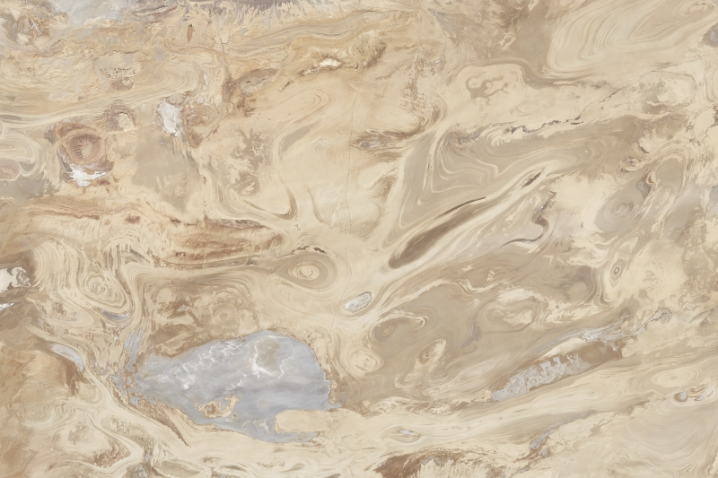 Dasht-e Kavir - Great Salt Desert, October 15, 2011, Jomhuri-ye Eslami-ye Iran - Islamic Republic of Iran, As Seen From the NASA Landsat 5 Satellite. Photo Credit: National Aeronautics and Space Administration (NASA, http://www.nasa.gov), Government of the United States of America.