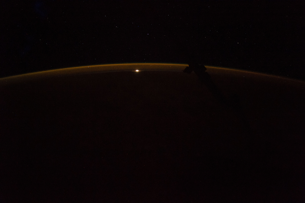 Photoset 2, Photograph 3. November 12, 2017 at 09:14:11 GMT, ISS053-E-188907, As Seen From the International Space Station (Expedition 53), Latitude: 27.9, Longitude: -146.1, Altitude: 216 Nautical Miles, Sun Azimuth: 341 degrees, Sun Elevation Angle: -80 degrees. Photo Credit: NASA; ISS053-E-188907, International Space Station (Expedition 53); Image courtesy of the Earth Science and Remote Sensing Unit, NASA Johnson Space Center, https://eol.jsc.nasa.gov. National Aeronautics and Space Administration (NASA, http://www.nasa.gov), Government of the United States of America (USA).