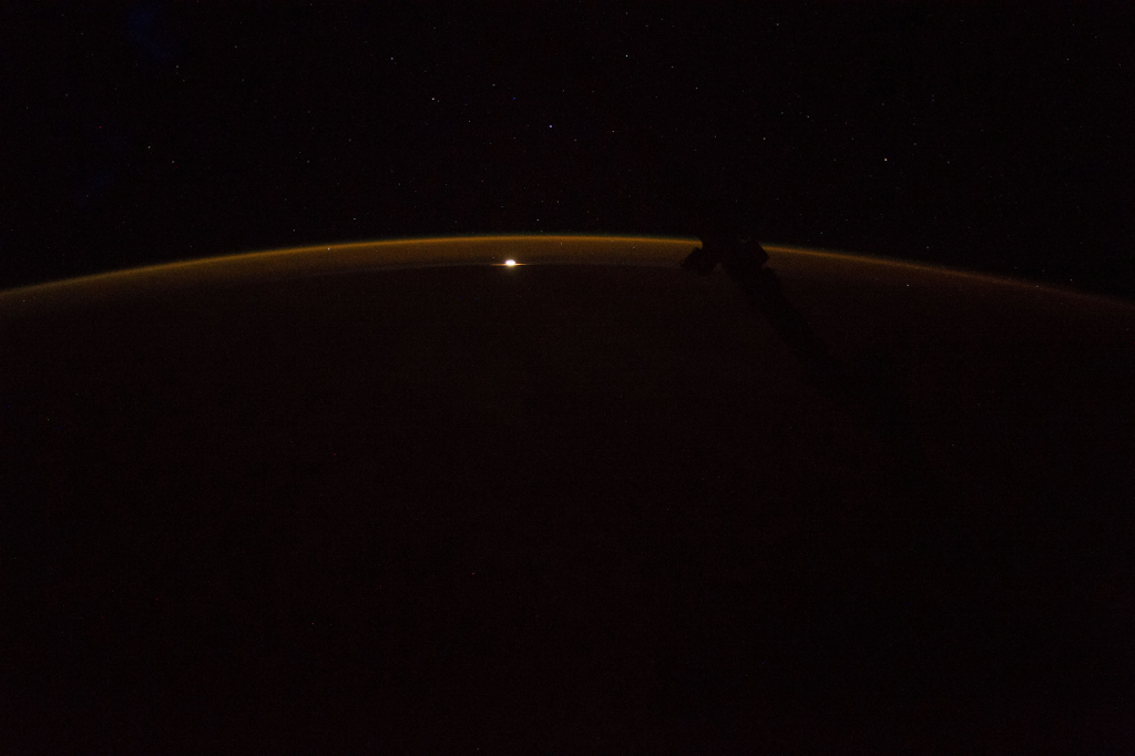 Photoset 2, Photograph 4. November 12, 2017 at 09:14:12 GMT, ISS053-E-188908, As Seen From the International Space Station (Expedition 53), Latitude: 27.9, Longitude: -146.0, Altitude: 216 Nautical Miles, Sun Azimuth: 341 degrees, Sun Elevation Angle: -79 degrees. Photo Credit: NASA; ISS053-E-188908, International Space Station (Expedition 53); Image courtesy of the Earth Science and Remote Sensing Unit, NASA Johnson Space Center, https://eol.jsc.nasa.gov. National Aeronautics and Space Administration (NASA, http://www.nasa.gov), Government of the United States of America (USA).