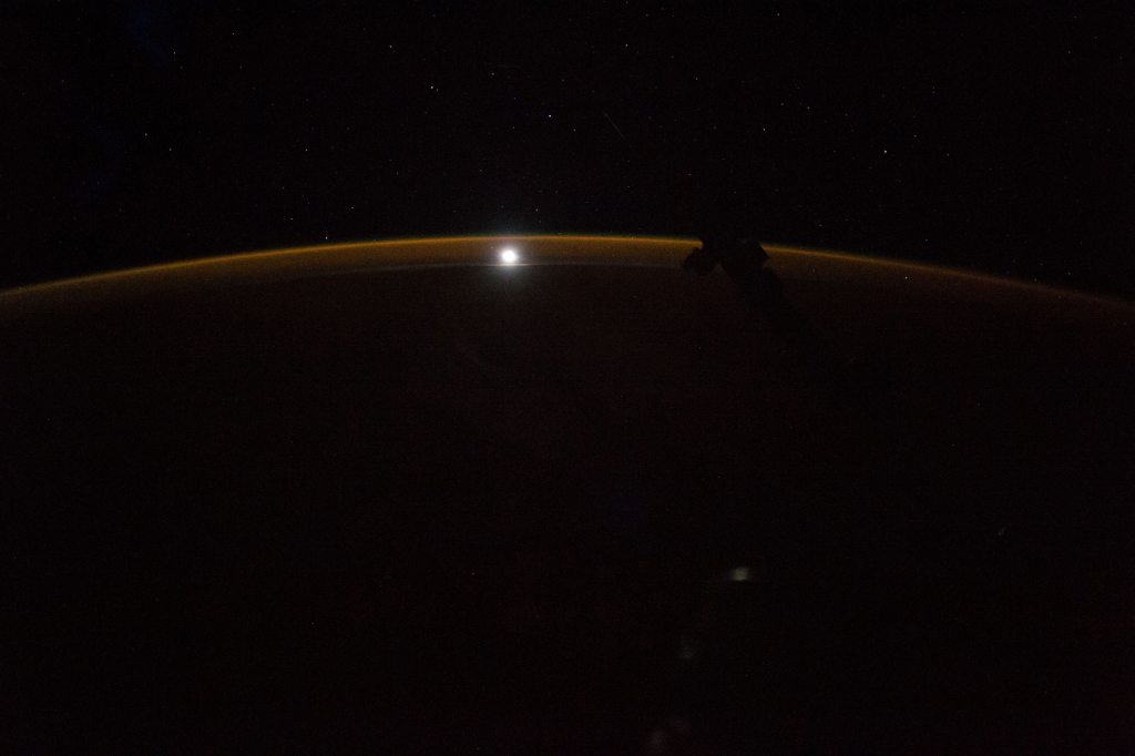 Photoset 2, Photograph 6. November 12, 2017 at 09:14:24 GMT, ISS053-E-188920, As Seen From the International Space Station (Expedition 53), Latitude: 28.5, Longitude: -145.5, Altitude: 216 Nautical Miles, Sun Azimuth: 345 degrees, Sun Elevation Angle: -79 degrees. Photo Credit: NASA; ISS053-E-188920, International Space Station (Expedition 53); Image courtesy of the Earth Science and Remote Sensing Unit, NASA Johnson Space Center, https://eol.jsc.nasa.gov. National Aeronautics and Space Administration (NASA, http://www.nasa.gov), Government of the United States of America (USA).