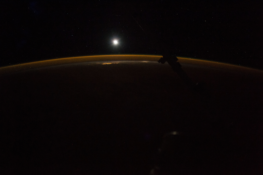 Photoset 2, Photograph 7. November 12, 2017 at 09:15:54 GMT, ISS053-E-189010, As Seen From the International Space Station (Expedition 53), Latitude: 32.6, Longitude: -141.0, Altitude: 216 Nautical Miles, Sun Azimuth: 7 degrees, Sun Elevation Angle: -75 degrees. Photo Credit: NASA; ISS053-E-189010, International Space Station (Expedition 53); Image courtesy of the Earth Science and Remote Sensing Unit, NASA Johnson Space Center, https://eol.jsc.nasa.gov. National Aeronautics and Space Administration (NASA, http://www.nasa.gov), Government of the United States of America (USA).