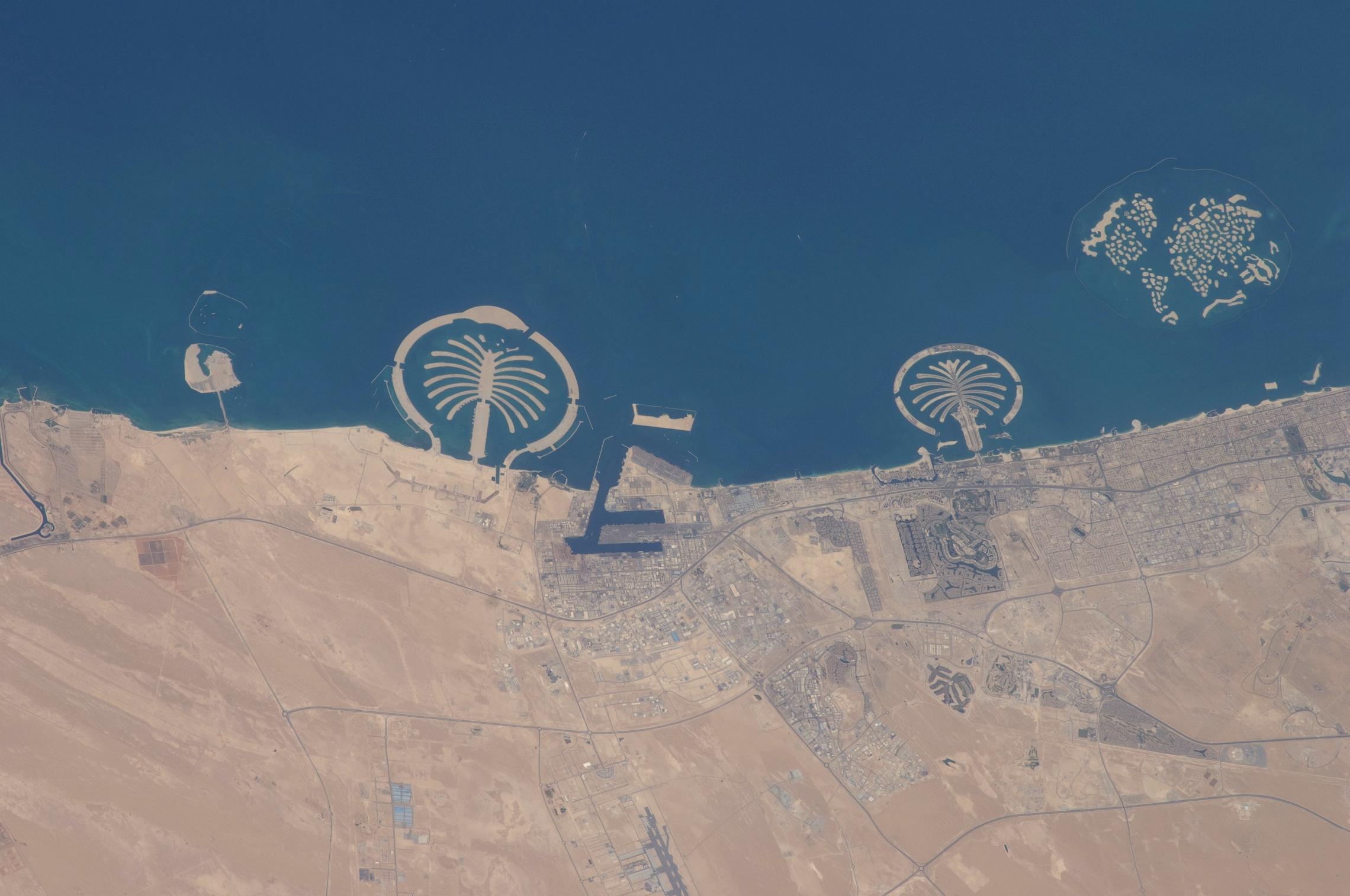 Dubai United Arab Emirates Palm Jebel Ali Palm Jumeirah